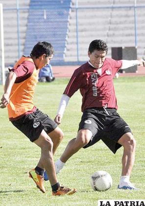 Saucedo se incorporó a los entrenamientos