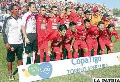 Jugadores del equipo de Guabirá