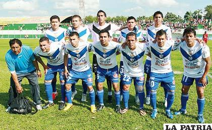 San José, el equipo que se presentó en Montero