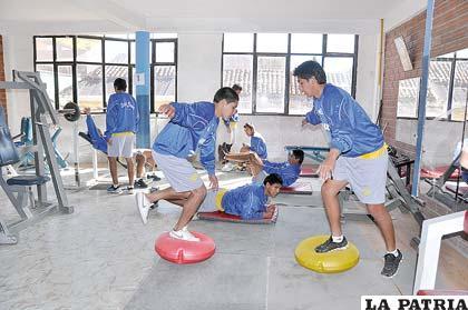 """Los """"santos"""" reanudarán sus entrenamientos hoy en un gimnasio"""