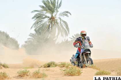 Salvatierra, el mejor exponente del motociclismo
