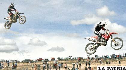 Espectacular fue la competencia que se disputó este fin de semana en Oruro