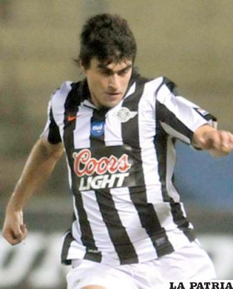 Gustavo Mencia, jugador de Libertad