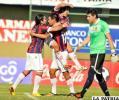 Festejo de los jugadores de Cerro Porteño
