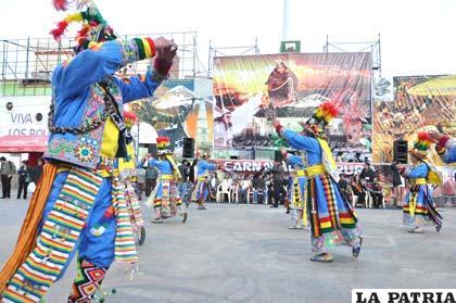 Defensa del Carnaval de Oruro podría iniciar desde hoy