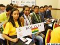 Delegación boliviana en Olimpiada de Matemáticas en Honduras