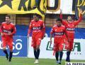 Palavicini celebra el gol que le dio la victoria a Universitario