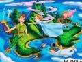 """Escena de """"Peter Pan"""", con fuerte influencia de la naturaleza y cultura latinoamericanas"""