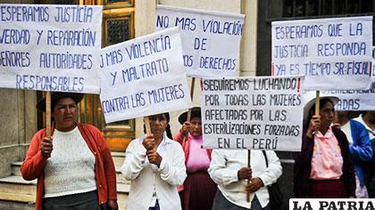 Mujeres peruanas fueron esterilizadas sin su consentimiento durante el  gobierno de Alberto Fujimori (1990-2000) /telemetro.com