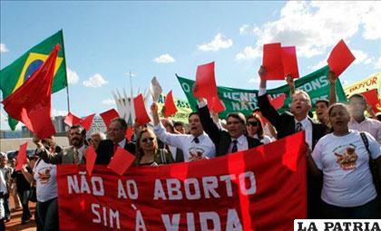 La legislación brasileña autoriza el aborto en casos de violación y riesgo para la vida de la madre /servidornoticias.com