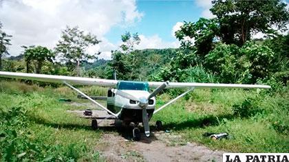 Pista clandestina en la región peruana del Vraem /PES3.AMAZONAS.COM