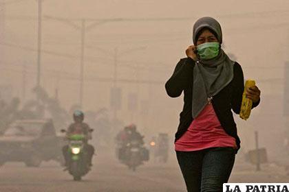 Las condiciones medioambientales en Indonesia no son de las mejores