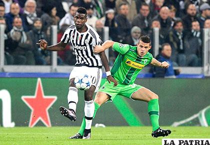 Juventus empató 0-0 con Borussia Mönchengladbach /AS.COM
