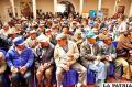Adultos mayores de Oruro