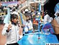 Estudiantes toman conciencia de la importancia del cuidado del agua