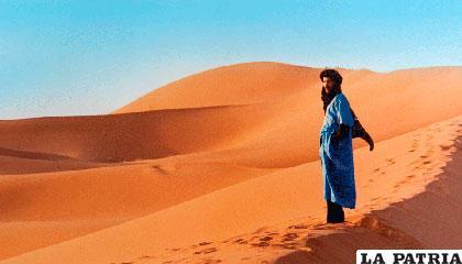En el desierto del Sahara hay 9.065.253 kilómetros cuadrados de arena