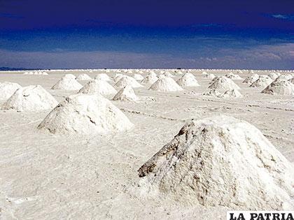 Vista del salar de Atacama - Chile