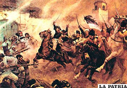 La batalla de chacabuco - 1 6