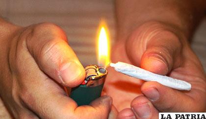 Los dos adolescentes consumieron drogas antes de que suceda el ilícito