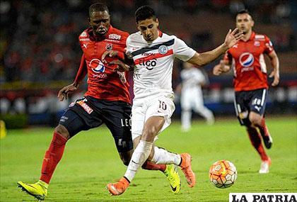 Por momentos Cerro Porteño dominó el partido /elpais.com