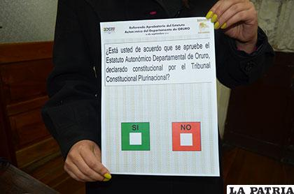 Estatuto autonómico de Oruro suspendido hasta nuevo aviso /Archivo