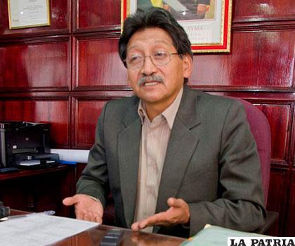 Marcelino Quispe, presidente de Comibol /ELDIARIO.NET