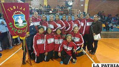 Integrantes de la selección de Tarija