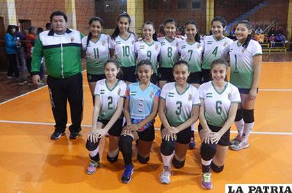 Santa Cruz participa en el torneo nacional