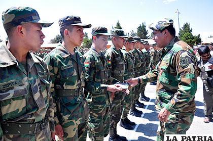 Jóvenes cumplieron con su deber cívico al realizar su servicio militar