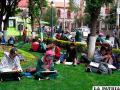 Estudiantes dibujarán al aire libre en la plaza