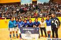 Ignacio León campeón del fútbol de salón en los Juegos Plurinacionales