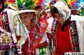 Universitarios manifestaron la diversidad del folklore boliviano