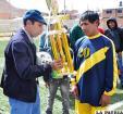 Achumani FC campeón del fútbol  provincial en Primera de Ascenso
