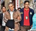 Omar Salinas es remitido a celdas judiciales para su respectiva audiencia /APG