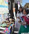 Señoritas del Liceo Oruro orientaron sobre el uso de redes sociales