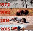 Refugiados de países bombardeados nos devuelven la visita