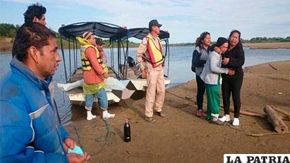 Los familiares de los hermanos desaparecidos acongojados tras el rescate