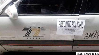 El motorizado en el que mataron a la universitaria /urgentebo.com