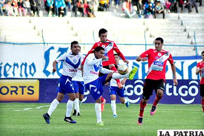 Ambos equipos se enfrentaron en Oruro el 16/04/17, San José venció por 2-1