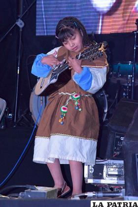 Gabriela Rodríguez y su vigor en el escenario