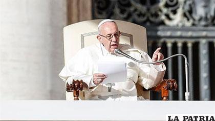 El Sumo Pontífice quiere una UE de paz y desarrollo