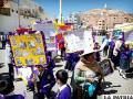 Marcha realizada ayer por la mañana