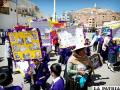 Estudiantes e instituciones le dijeron no a la violencia
