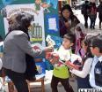 Los niños mostraron mediante juegos las formas en las que la población debe ser parte de la cultura tributaria