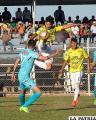 Petrolero y Bolívar se enfrentaron en Yacuiba el 6/08/2017 con triunfo de los locales (2-0) /APG