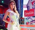Ana Sepúlveda, Miss Fipaz 2016, hoy entregará el cetro y la banda a su sucesora, tras conocer a la ganadora de la elección que se realizará en el salón auditorio Illimani del campo ferial Chuquiago Marka