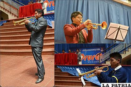 Ganadores en todas las categorías del Festival Trompeta de Oro /LA PATRIA