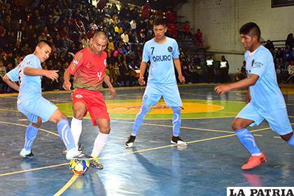 La selección de Oruro fue superior ante su similar de La Paz /Reynaldo Bellota - LA PATRIA