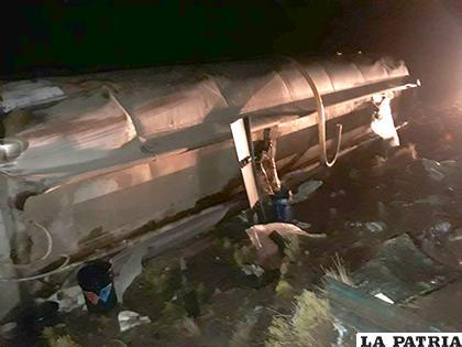 Los daños materiales en el motorizado fueron de relativa consideración /LA PATRIA