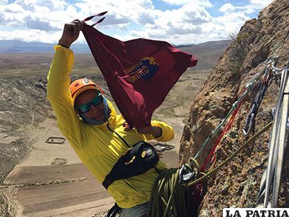 Josué Colque representará a Oruro en ese  evento internacional /cortesía Josué Colque